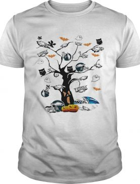 Philadelphia Eagles tree Halloween shirt
