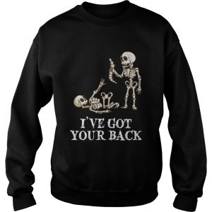 Skeleton Ive got your back sweatshirt