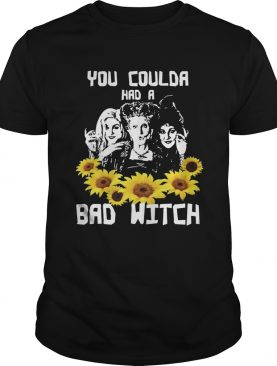 You coulda had a bad witch Hocus Pocus sunflowers shirt