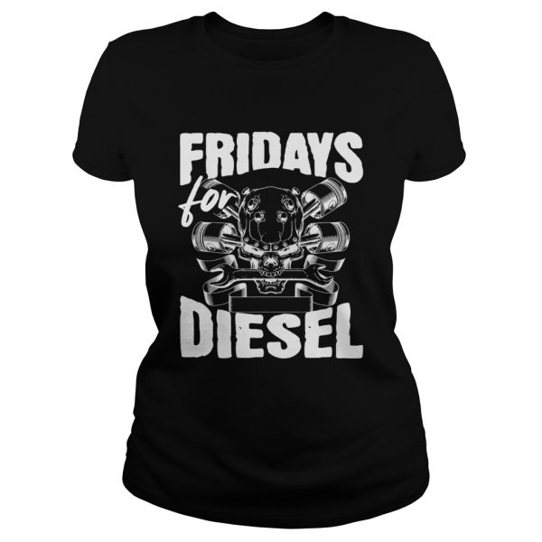 Fridays For Diesel ladeis tee
