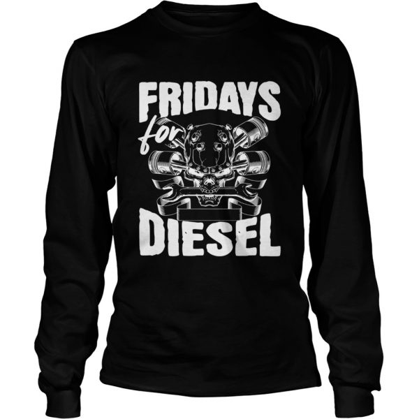 Fridays For Diesel longsleeve tee