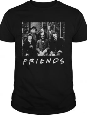 Friends All characters Joker psychoanalysis shirt