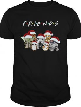 Friends Star Wars All Characters Christmas Sweater