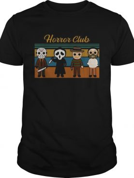 Halloween Horror club Horror character vintage shirt