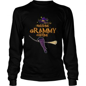 Halloween This Is My Awesome Grammy Costume longsleeve tee