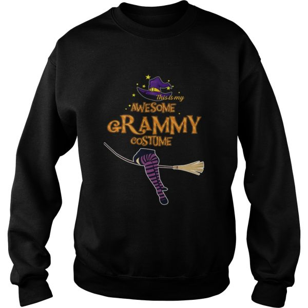 Halloween This Is My Awesome Grammy Costume sweatshirt