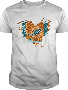 Heart Diamond Miami Dolphins Shirt