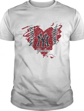 Heart Diamond New York Yankees shirt