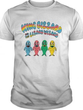 King Gizzard And The Lizard Wizard Fishies Tshirts