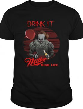 Pennywise Drink IT Miller High Life shirt