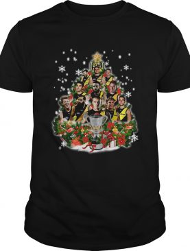 Richmond Tigers Players Christmas Tree Shirt