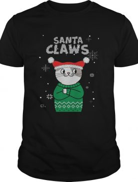 Santa Claws Cat Ugly Christmas shirt