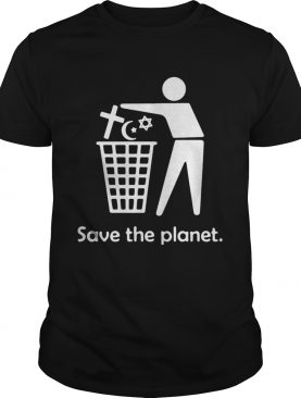 Save the planet shirt