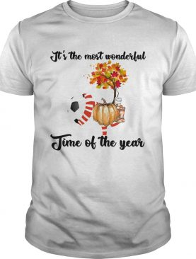 Soccer Its the most wonderful time of the year shirt