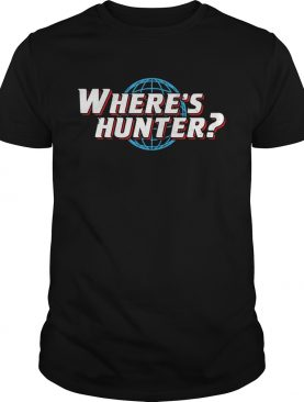 Where's Hunter shirt