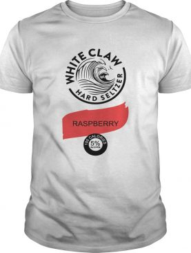 White claw hard seltzer Raspberry shirt