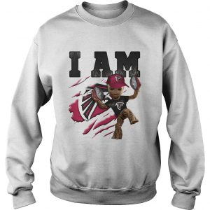 Baby Groot I Am Atlanta Falcons sweatshirt