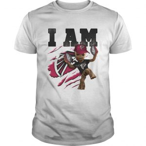 Baby Groot I Am Atlanta Falcons unisex