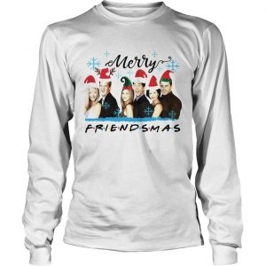 Friends Merry Friendsmas Christmas longsleeve tee
