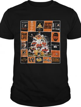 Philadelphia Flyers players Signatures Keep Calm And Call A Timeout Poster shirt