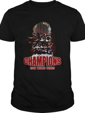 Washington Nationals Baseball 2019 World Series Champions shirt