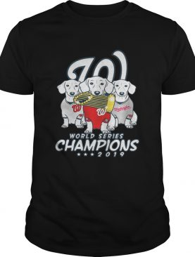 Washington Nationals World Series Champions 2019 Dachshund shirt
