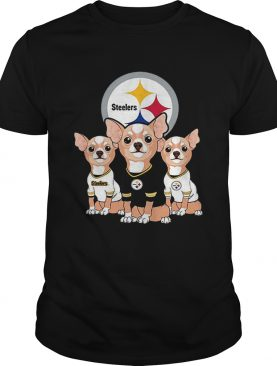 Chihuahuas Pittsburgh Steelers NFL shirt