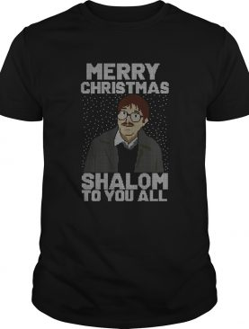 Merry Christmas Shalom To You All Sweater
