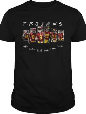 Usc Trojans Players Signatures shirt