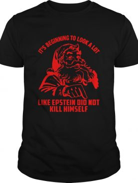 It's Beginning To Look A Lot Like Epstein Didn't Kill Himself Christmas Shirt