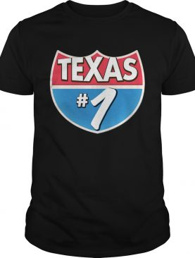 Texas Number 1 shirt