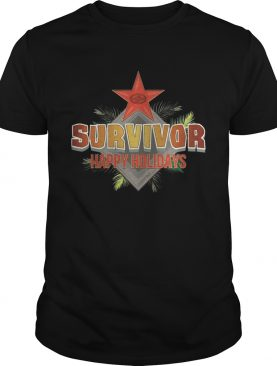 Survivor Happy Holidays Christmas shirt