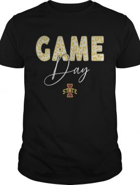 Iowa State Cyclones Game Day Leopard Team Shirt