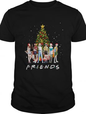 Stranger Things Characters Friends Christmas Tree Shirt
