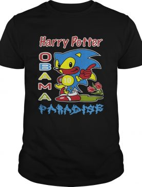 Harry Potter Obama Sonic Paradise Shirt
