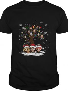 Harry Potter chracter chibi Christmas shirt