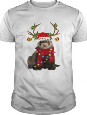 Otter gorgeous reindeer light Christmas shirt