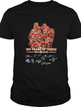 124 Years Of Clemson Tigers 1896 2020 Players Signatures shirt Sweater