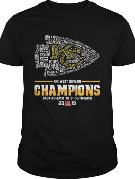 Kansas City Chiefs Players AFC West Divison Champions Back To Back shirt Sweater