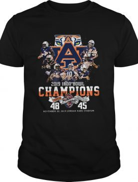 2019 Iron Bowl Champions 2019 Auburn Tigers Alabama Shirt