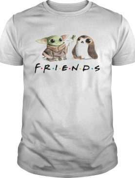 Baby Yoda Frog and Penguin Friends Shirt