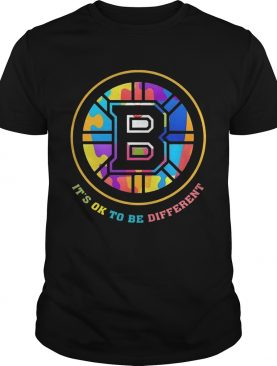 Boston Bruins It's Ok To Be Different Shirt