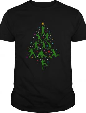 Xmas Baseball Christmas Tree shirt