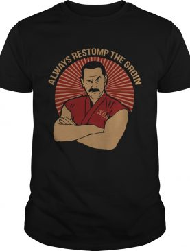 Master Ken Always Restomp The Groin Shirt