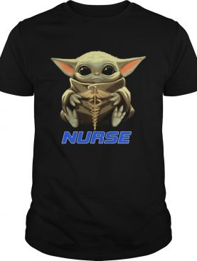 OFFICiAL Baby Yoda Hug Nurse Shirt