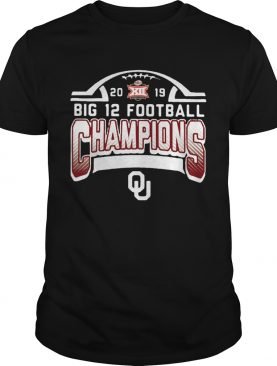 2019 Big 12 Football Champions Oklahoma shirt