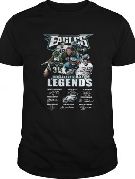 Eagles Pittsburgh Steelers Legends Players Signatures Shirt