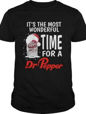 It's the most wonderful time for a Dr Pepper Christmas shirt