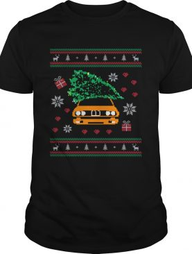 General Lee Car Christmas Tree Ugly Christmas Sweater