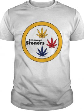 Weed Steelers Pittsburgh Stoners Offcial T-Shirt
